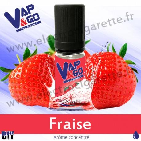 Fraise - Vape&Go - Arôme concentré DiY - 10 ml