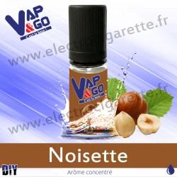 Noisette - Vape&Go - Arôme concentré DiY - 10 ml