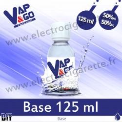 Base - Vape&Go - 125 ml - 50/50