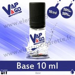 Base - Vape&Go - 10 ml - 50/50