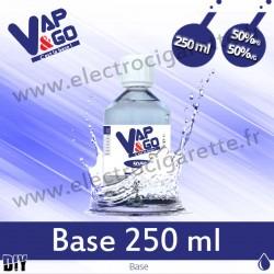 Base - Vape&Go - 250 ml - 50/50
