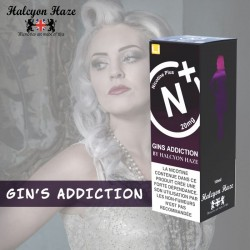 Gin Addiction - Halcyon Haze - 10ml - Nicotine Plus - Sel de nicotine