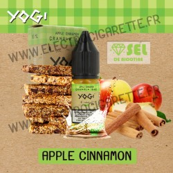 Apple Cinnamon - Nic Salt - Yogi - 10ml - Sel de nicotine