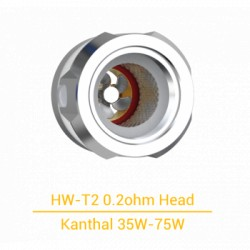 Pack de 3 x résistances HW-T2 0.2 Ohm - Eleaf