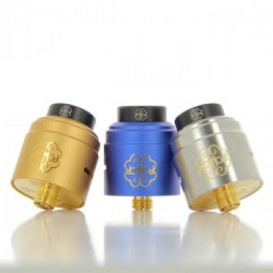 Dot RDA 24 V1.5 - Dotmod - Couleur Gold, Silver et Blue