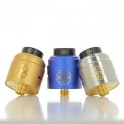 Dot RDA 24 V1.5 - Dotmod - Couleur Gold, Silver et Blue