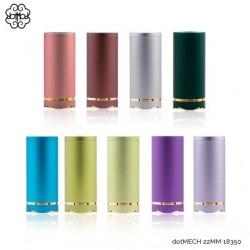 dotMech 22mm 18350 - DotMod - Couleurs