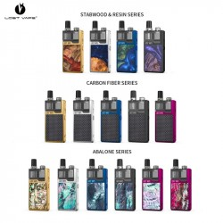 Kit Orion DNA Go Plus Stabwood - 950 mAh - 3ml - Lost Vape - Couleurs