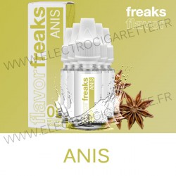 Pack de 5 x Anis - Freaks - 10 ml