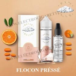 Flocon Préssé - Petit Nuage - ZHC 60 ml avec Fiole Vide 30ml Graduée