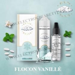 Flocon Vanillé - Petit Nuage - ZHC 60 ml avec Fiole Vide 30ml Graduée