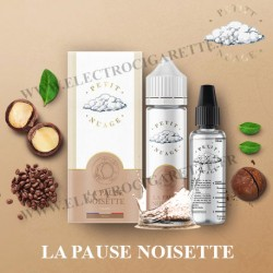 La Pause Noisette - Petit Nuage - ZHC 60 ml avec Fiole Vide 30ml Graduée
