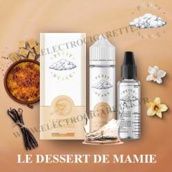 Le Dessert de Mamie - Petit Nuage - ZHC 60 ml avec Fiole Vide 30ml Graduée