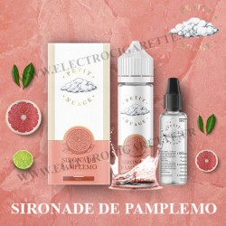 Sironade Pamplemo - Petit Nuage - ZHC 60 ml avec Fiole Vide 30ml Graduée