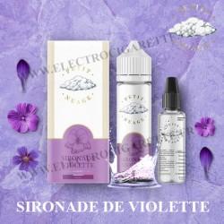 Sironade Violette - Petit Nuage - ZHC 60 ml avec Fiole Vide 30ml Graduée