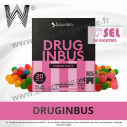 Druginbus - 4 x Pod 1ml - Wpod Liquideo