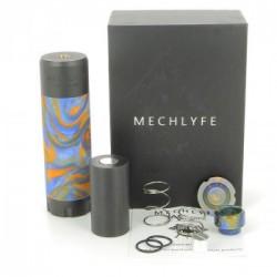 Kit Arcless Slatra Competition Mech avec clearomiseur Slatra RDA - Mechlyfe - Boite Bleu