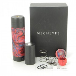 Kit Arcless Slatra Competition Mech avec clearomiseur Slatra RDA - Mechlyfe - Boite Rouge