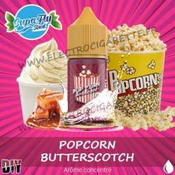 Pop-corn & Butterscotch - 30ml - Supafly - DiY Arôme concentré