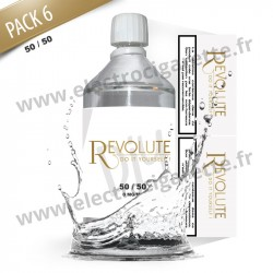 Pack Base 0mg - 50/50 - Revolute