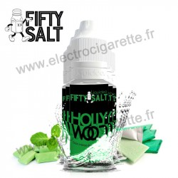 Pack 5 x flacons Hollywood - Fifty Salt - Liquideo