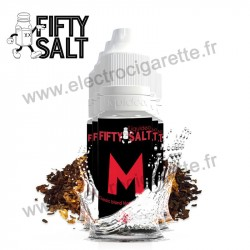 Pack 5 x flacons Le M - Fifty Salt - Liquideo