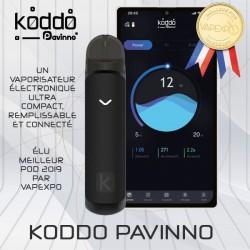 Koddo Pavinno - Pod remplissable et connecté - Couleur Noir