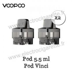 Pack de 2 x Cartouche Vinci 5.5ml - Voopoo