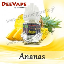 Pack de 5 x Ananas - Deevape - ExtraPure - 10ml