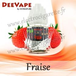 Pack de 5 x Fraise - Deevape - ExtraPure - 10ml