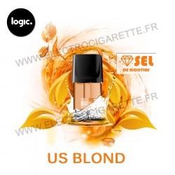 US Blond - Goût Intense - Pack de 2 x Capsules (Pod) - Logic Compact