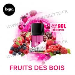 Fruits des Bois - Goût Intense - Pack de 2 x Capsules (Pod) - Logic Compact