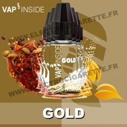 Pack de 5 x Gold - Vap Inside - 10 ml