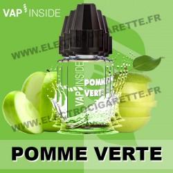 Pack de 5 x Pomme Verte - Vap Inside - 10 ml