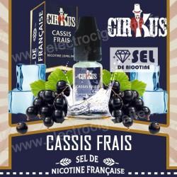 Cassis Frais - Sel de Nicotine Française - Cirkus VDLV
