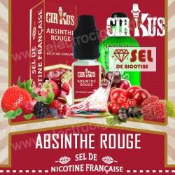 Absinthe Rouge - Sel de Nicotine Française - Cirkus VDLV