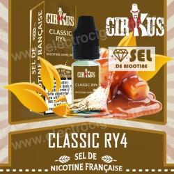 Classic RY4 - Sel de Nicotine Française - Cirkus VDLV