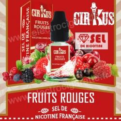 Fruits Rouges - Sel de Nicotine Française - Cirkus VDLV