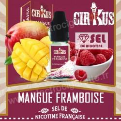 Mangue Framboise - Sel de Nicotine Française - Cirkus VDLV