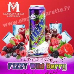 Fizzy Wild Berry - Mohawk & Co - ZHC 55 ml