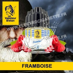 Pack de 5 x Framboise - L'Authentic - Le Vapoteur Breton - 10 ml