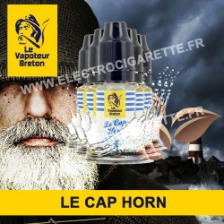 Pack de 5 x Le Cap Horn - L'Authentic - Le Vapoteur Breton - 10 ml