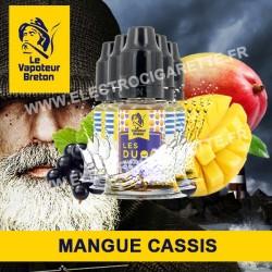 Pack de 5 x Mangue Cassis - Les Duos - Le Vapoteur Breton - 10 ml