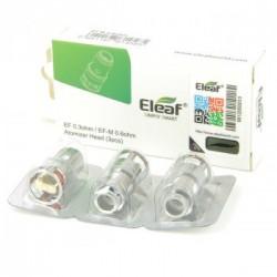 Pack de 3 x résistances EF-M 0.6ohm Pesso Eleaf