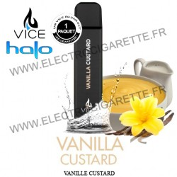 Halo Vanille Custard - Cigarette jetable Vice