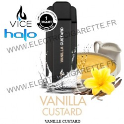 Halo Vanille Custard - 3 x Cigarette jetable Vice