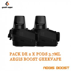 Pack de 2 x Pods 3.7ml Aegis Boost - GeekVape
