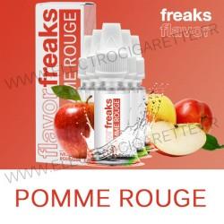 Pack de 5 x Pomme Rouge - Freaks - 10 ml