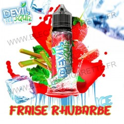 Fraise Rhubarbe Ice - Devil Squiz Ice - Avap - ZHC 50 ml