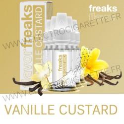 Pack de 5 x Vanille Custard - Freaks - 10 ml